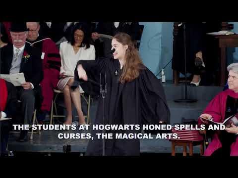 Latin Orator Phoebe Lakin | Harvard Commencement 2018