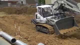 Liebherr 634 Track Loader at work