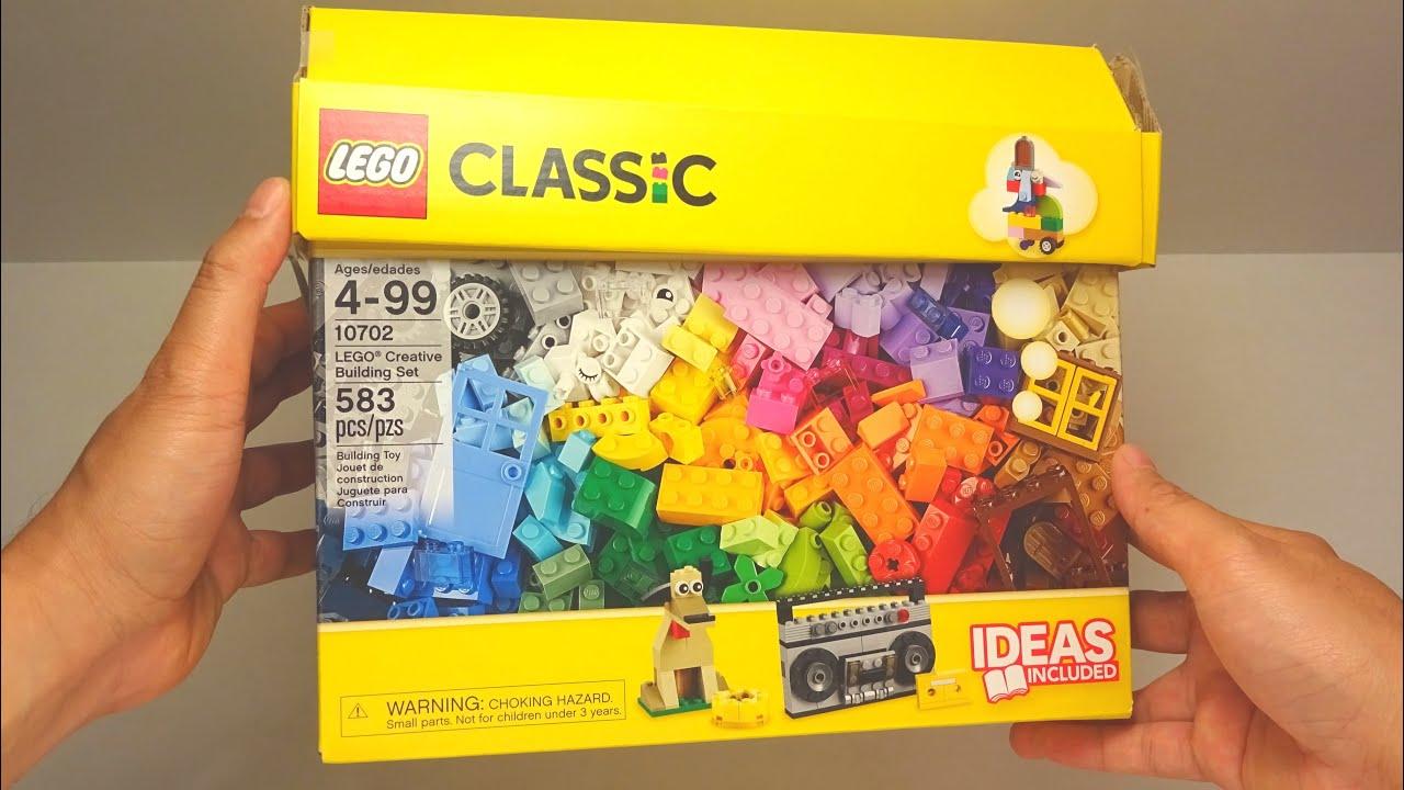 Lego Classic 2016 Unboxing Creative Building Set 583 pcs