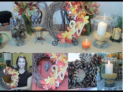 3 DIY Fall Decor Ideas on a budget 2015