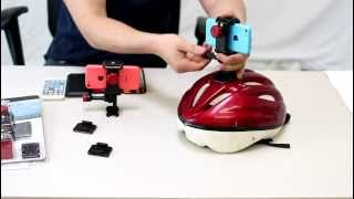 How to make a Bicycle Helmet Cam Mount