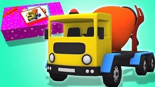 betonimylly muodostumisen | auto lapsille | Cement Mixer | Kids Tv Suomi | Finnish Lasten Lauluja