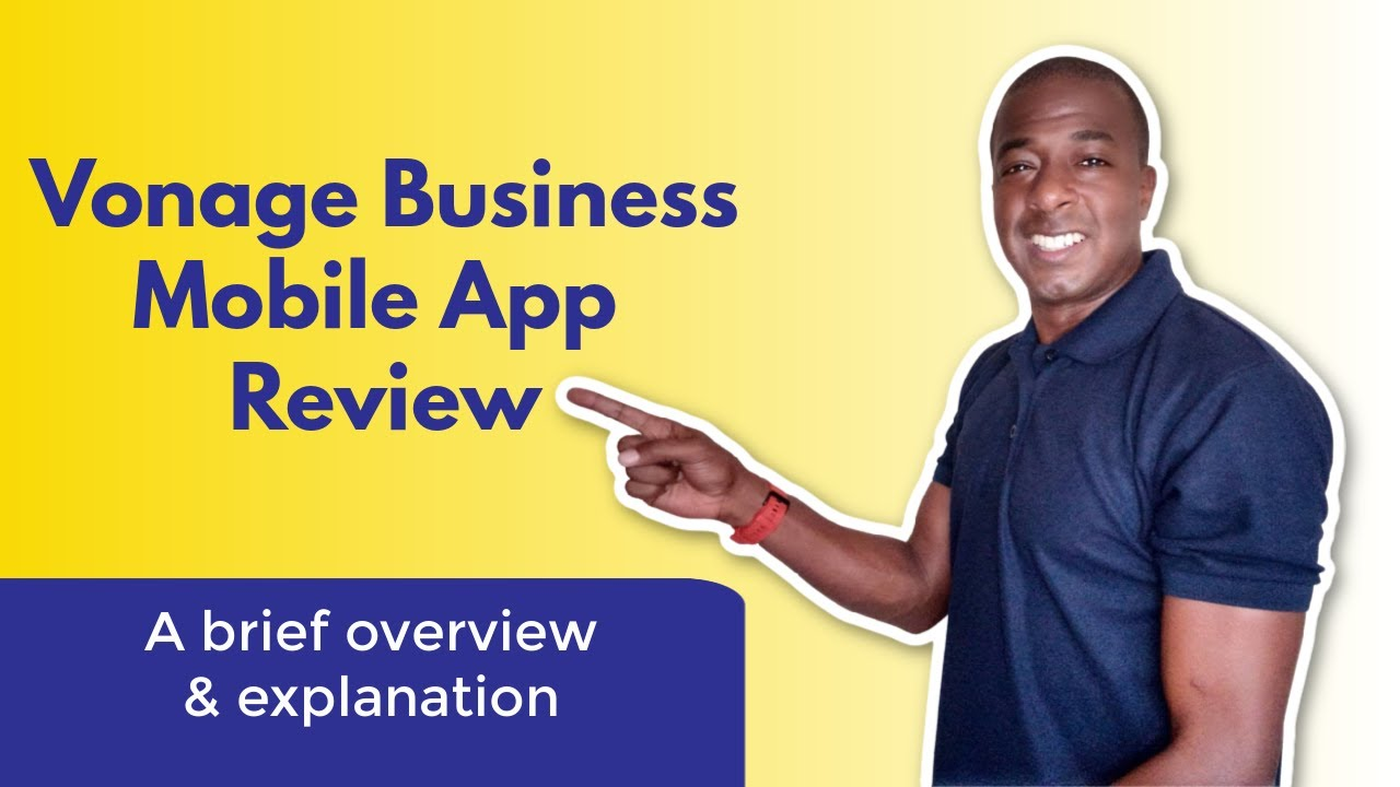 Official Vonage Business mobile app review! (Vonage Business Cloud Mobile  App)