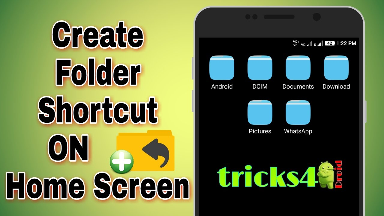 how to make shortcut folder on mac