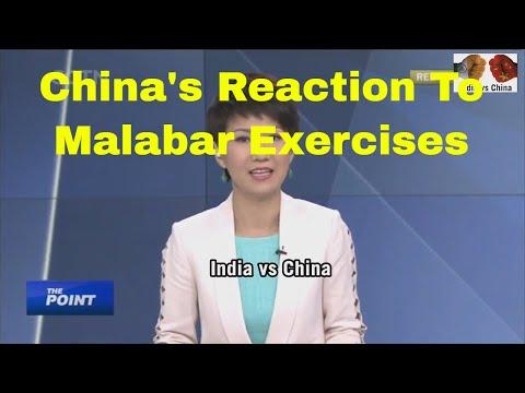 Chinese Media Reaction To India-US-Japan Joint Naval Drills At Malabar