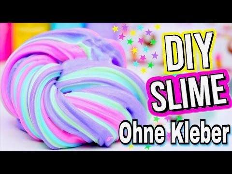 3 diy schleim rezepte ohne kleber i diy slime without glue youtube. Black Bedroom Furniture Sets. Home Design Ideas