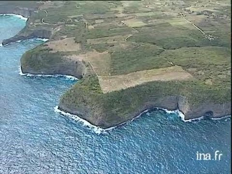 Guadeloupe : Falaises de Marie-Galante