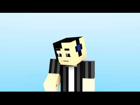 Minecraft Animation - Changing the skin (test) - YouTube