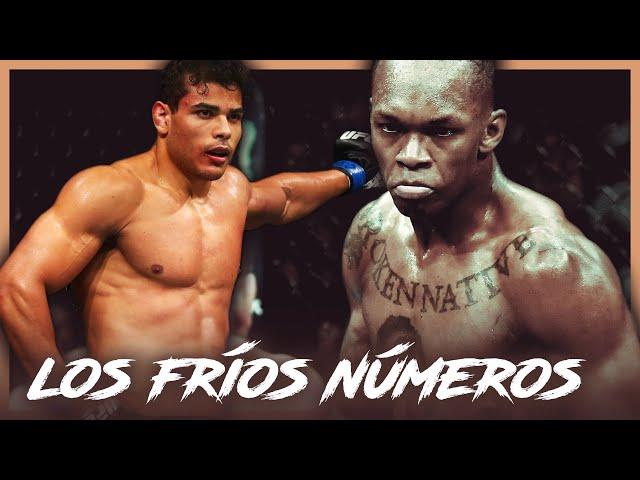 Israel Adesanya vs. Paulo Costa en los fríos NÚMEROS || UFC 253