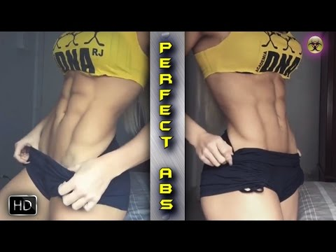 Fitness Women PERFECT ABS  Exercise and Workout Extremely Amazing Gym GIRLS