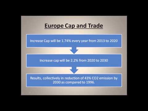 Carbon Cap and Trade Scenario - Europe and India