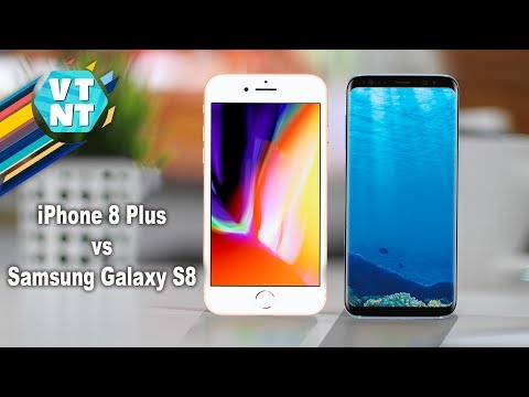 Apple iPhone 8 Plus vs Samsung Galaxy S8 - Сравнение
