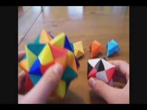 30 Unit PHiZZ Ball (modular Origami) | Modular origami, Origami ... | 360x480
