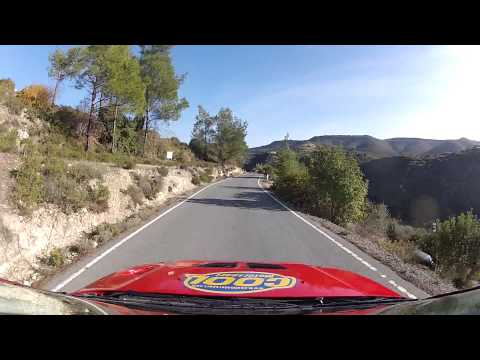 Andy P.. Limassol Mini Rally