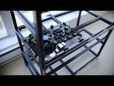 12 GPU Mining Rig Condo PROJECT! Part 1