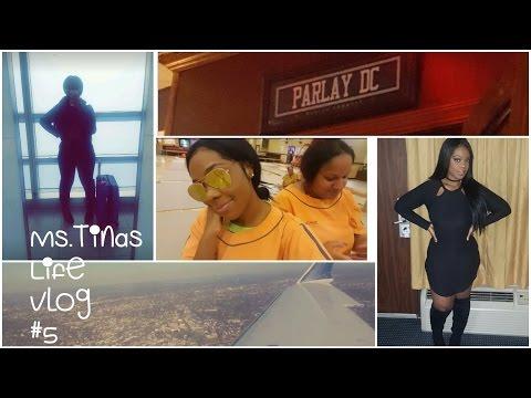 Ms. Tina's Life (Vlog #5) NY To Washington DC Vacation/Plastic Surgery ?/ Spa Fun/Weight Loss Issues