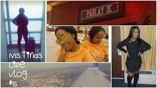 Ms. Tina's Life (Vlog #5) NY To Washington DC Vacation/Plastic Surgery ?/ Spa Fun/Weight Loss Issues
