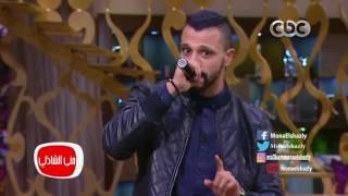 """معكم منى الشاذلى - الفنان زاب ثروت يغني أغنيتة الشهيرة """"نور"""" في برنامج معكم"""