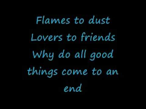 Nelly Furtado- All Good Things Come To An End with lyrics on screen