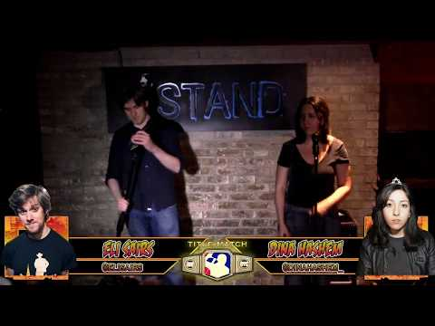 The RoastMasters @ NYCF 11.10.17 Championship Match: Eli Sairs C vs. Dina Hashem