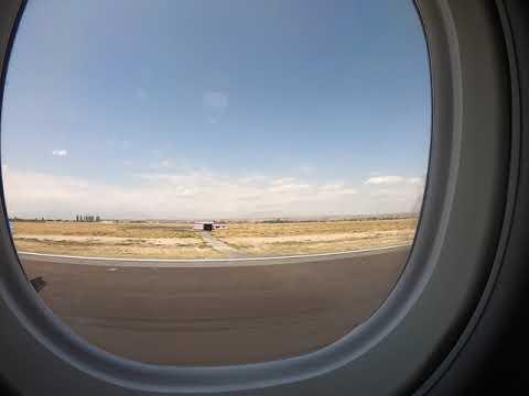 Armenia, Yerevan, Landing, B737-800, Timelapse