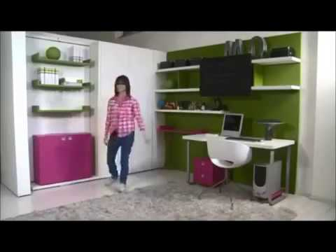 Lit mural ikea montr al paris conomisez plus de 80 du prix youtube - Lit escamotable ikea ...
