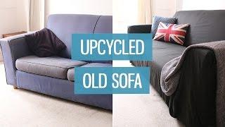 Old Sofa Makeover – Upcycling Diy | Charlimarietv
