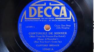 Clifford Breaux - Continuez De Sonner