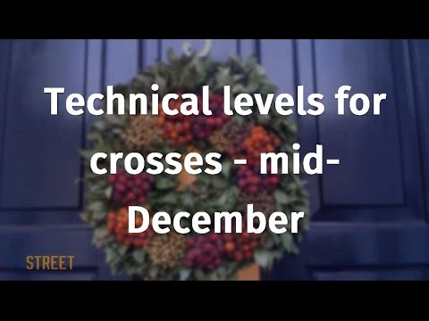 Technical levels for crosses - mid-December