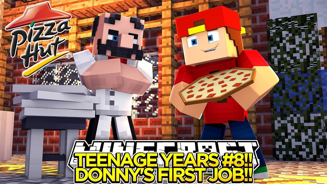 teenage years 8 our first job little donny baby leah teenage years 8 our first job little donny baby leah minecraft custom roleplay