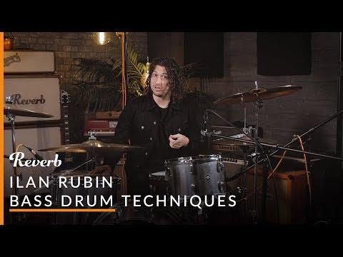 NIN Drummer Ilan Rubin Teaches 3 Bass Drum Exercises | Reverb Learn To Play