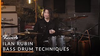 NIN Drummer Ilan Rubin Teaches 3 Bass Drum Exercises Reverb Learn To Play