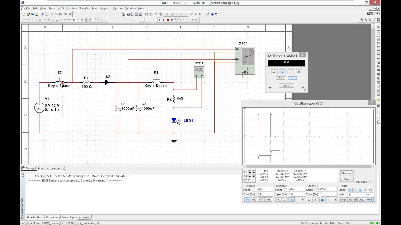 How To Make A Blinking Led Circuit Search For Wiring Diagrams Using 555 Timer Youtube Multisim Flashlight Simulation 01 On Breadboard Complete