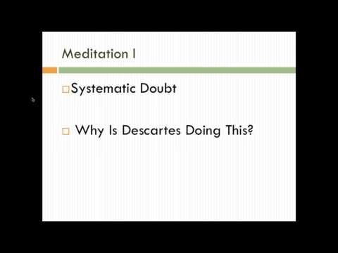 Intro to Philosophy: Descartes' Meditations