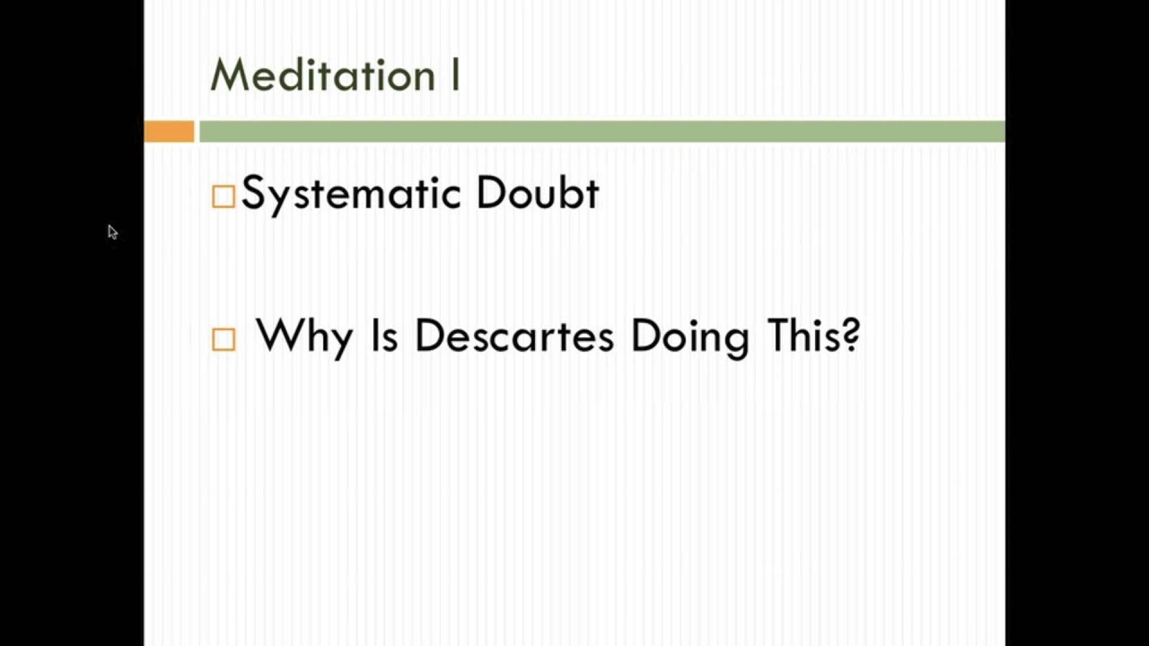 an introduction to the analysis of sixth meditation by descartes Wilson catherine, descartes' meditations (an introduction) - ebook download as pdf file (pdf), text file (txt) or read book online wilson catherine, descartes' meditations (an introduction.