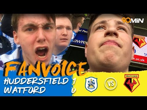 Ince late goal gives Huddersfield the win! | Huddersfield 1-0 Watford | 90min Fanvoice