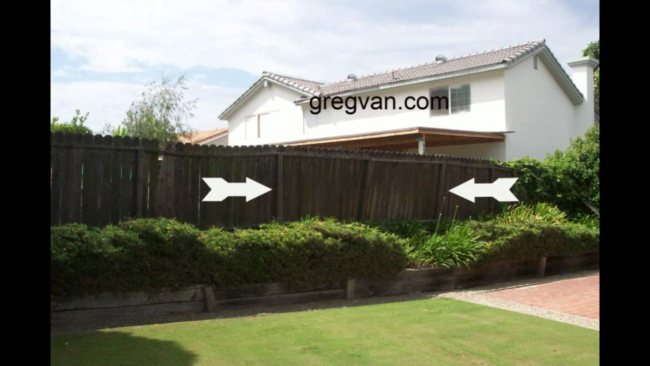 Should You Replace A Leaning Wood Fence Home Repairs