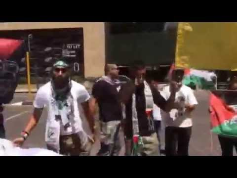 #BDS protesters in #SouthAfrica chant to exterminate #Jews