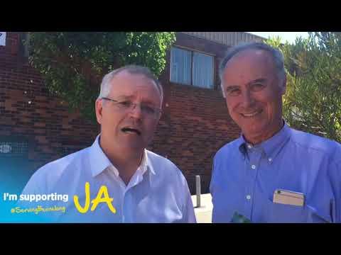 Here's why Scott Morrison MP is backing John Alexander.