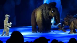 Детское шоу Ледниковый период (отрывки)