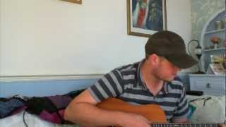 Amos Lee - Clear Blue Eyes  (Cover)