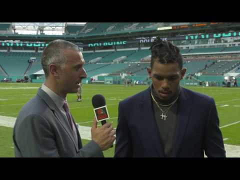 Pryor Postgame Interview: Browns at Dolphins