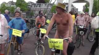 Getting the message out - naked protesting