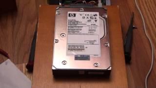 15k RPM SCSI Hard Drive