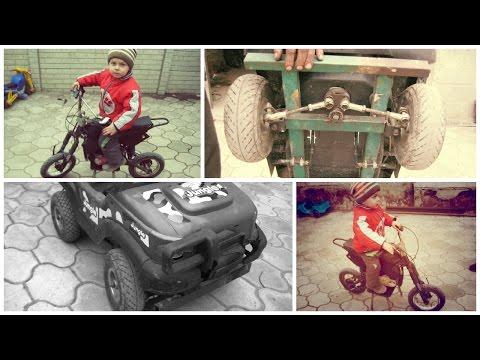 ЭКСКЛЮЗИВ Питбайк и квадроцикл своими руками (Pit bike and ATV with his own hands) смотреть онлайн