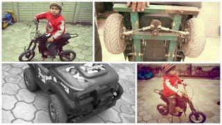 ЭКСКЛЮЗИВ! Питбайк и квадроцикл своими руками (Pit bike and ATV with his own hands)