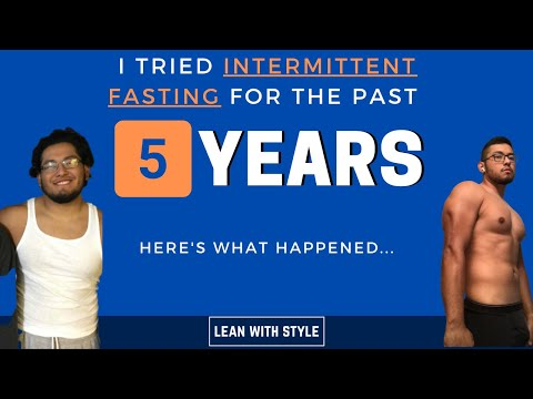 I Tried Intermittent Fasting For 5 Years | intermittent fasting before and after