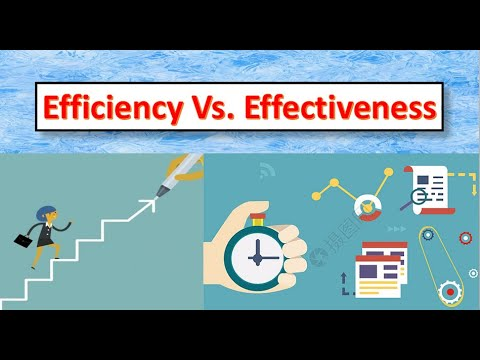 Download Key Difference Between Efficiency and Effectiveness [With Example]