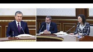 Президент Узбекистана принял делегацию Американо-Узбекской торговой палаты