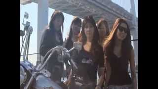 Repeat youtube video BIKER GIRLS バイカーガールズ LUCKY DEVILS!!!